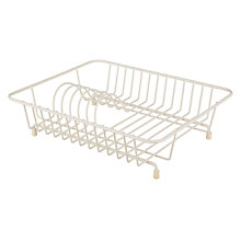 Buy John Lewis Compact Dish Drainer, Cream Online at johnlewis.com