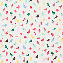 Buy John Lewis Scandi Bird Fabric Online at johnlewis.com
