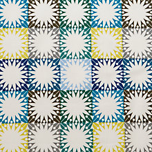 Buy John Lewis Scandi Multi Star Squares Fabric Online at johnlewis.com