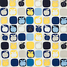Buy John Lewis Scandi Apple Fabric Online at johnlewis.com