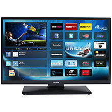 "Buy Linsar 24LED980 LED HD 720p Smart TV, 24"" with Freeview HD Online at johnlewis.com"
