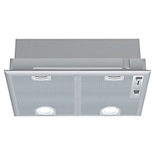 Buy Bosch DHL545SGB Integrated Extractor Hood, Silver Metallic Online at johnlewis.com