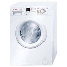 Buy Bosch WAB28161GB Washing Machine, 6kg Load, A+++ Energy Rating, 1400rpm Spin, White Online at johnlewis.com