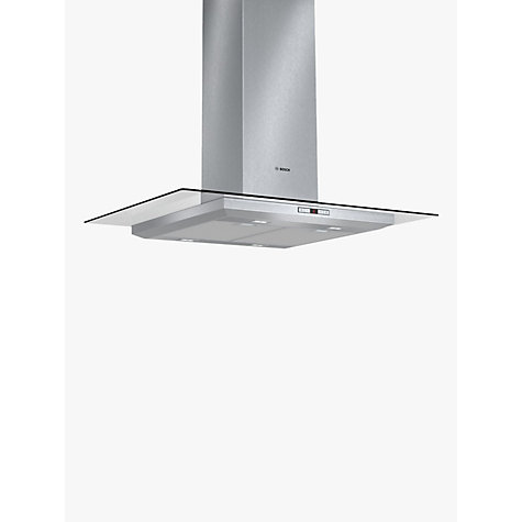 Buy Bosch DIA098E50B Island Chimney Cooker Hood, Brushed Steel Online at johnlewis.com