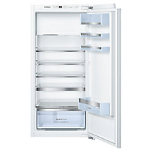 Buy Bosch KIL42AD40G Integrated Fridge with Freezer Compartment, A+++ Energy Rating, 56cm Wide Online at johnlewis.com