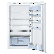 Buy Bosch KIR31AF30G Integrated Larder Fridge, A++ Energy Rating, 56cm Wide Online at johnlewis.com