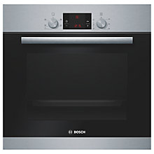 Buy Bosch HBA13R150B Single Electric Oven, Brushed Steel Online at johnlewis.com