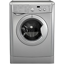 Buy Indesit IWD71251S ECO Freestanding Washing Machine, 7kg Load, A+ Energy Rating, 1200rpm Spin, Silver Online at johnlewis.com