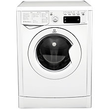 Buy Indesit IWE81481 ECO Washing Machine, 8kg Load, A+ Energy Rating, 1400rpm Spin, White Online at johnlewis.com
