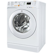 Buy Indesit XWDA751680X Washer Dryer, 7kg Wash/5kg Dry Load, A Energy Rating, 1600rpm Spin, White Online at johnlewis.com