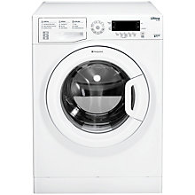 Buy Hotpoint SWMD8437 Washing Machine, 8kg Load, A+++ Energy Rating, 1400rpm Spin, White Online at johnlewis.com