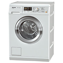 Buy Miele WDA210 Freestanding Washing Machine, 7kg Load, A+++ Energy Rating, 1400rpm Spin, White Online at johnlewis.com