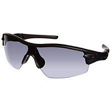 Buy Oakley OO9052 Radar Pitch Sunglasses, Black Online at johnlewis.com