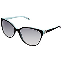 Buy Tiffany & Co TF4089B Cat's Eye Sunglasses Online at johnlewis.com