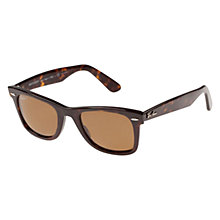 Buy Ray-Ban RB2132 Iconic Wayfarer Sunglasses Online at johnlewis.com