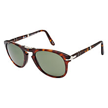 Buy Persol PO0714 24/31 Suprema Polarised Folding Sunglasses, Havana Online at johnlewis.com