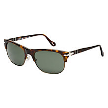 Buy Persol PO3034S 24/31 Half Frame Sunglasses, Havana Online at johnlewis.com