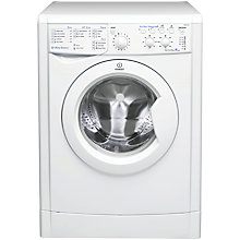 Buy Indesit IWSC51251 ECO Washing Machine, 5kg Load, A+ Energy Rating, 1200rpm Spin, White Online at johnlewis.com