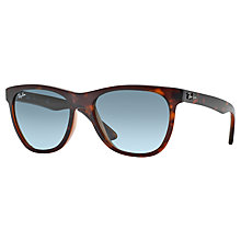 Buy Ray-Ban RB4184 High Street Square Polarised Sunglasses Online at johnlewis.com