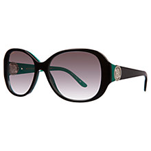 Buy Bvlgari BV8138B Engraved Oval Sunglasses Online at johnlewis.com