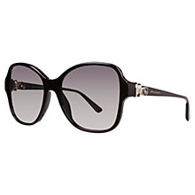 Buy Bvlgari BV8137B Square Diamanté Sunglasses Online at johnlewis.com