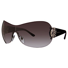 Buy Bvlgari BV6074B Diamanté Sunglasses, Silver Online at johnlewis.com
