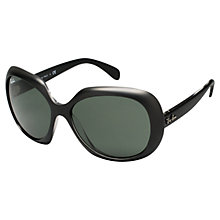 Buy Ray-Ban RB4208 Sunglasses, Black Online at johnlewis.com