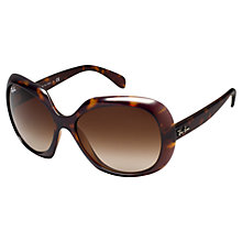 Buy Ray-Ban RB4208 Butterfly Lens Sunglasses, Havana Online at johnlewis.com