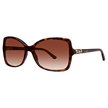 Buy Bvlgari BV8139B Butterfly Frame Sunglasses, Dark Havana Online at johnlewis.com