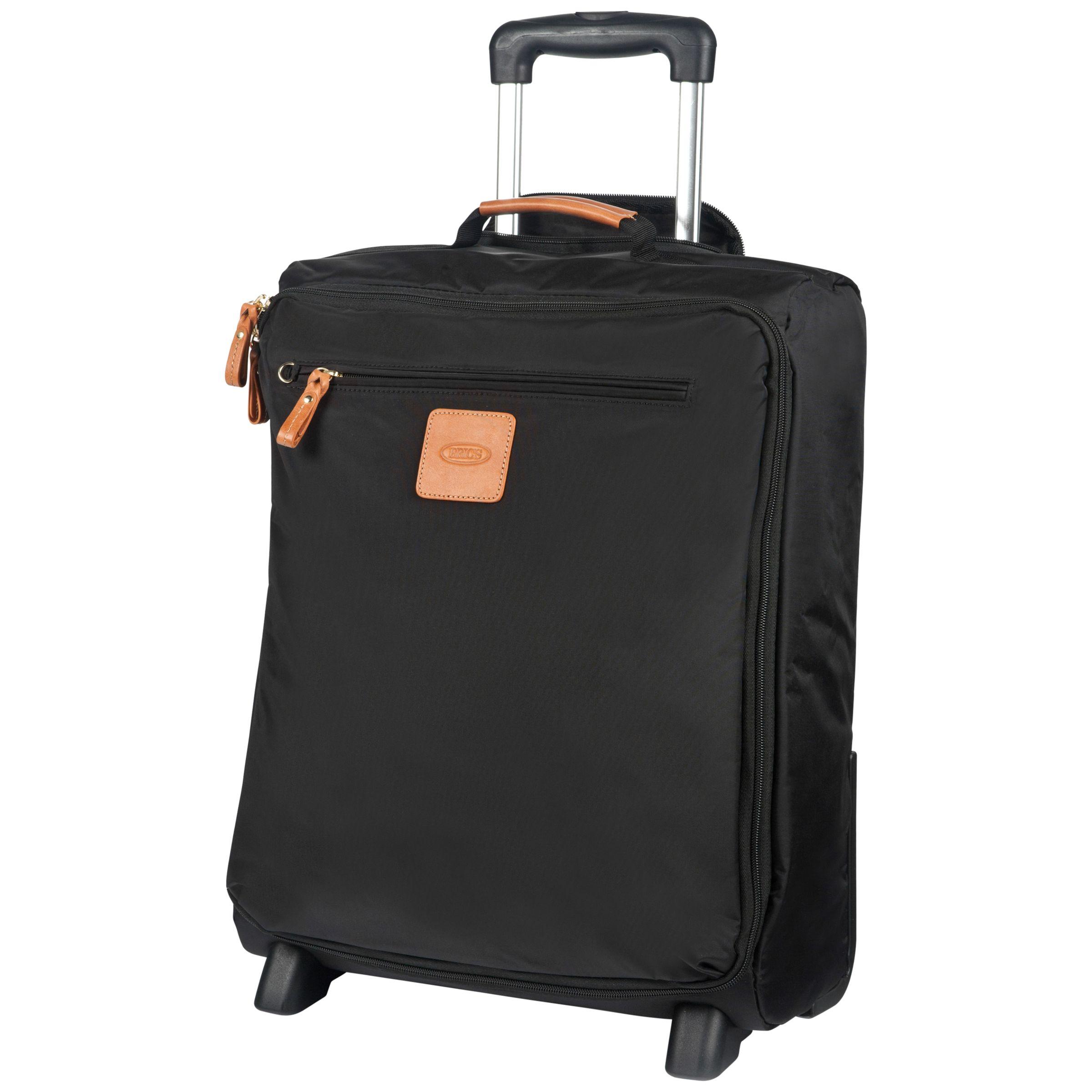 Bric's Bric's X Travel 2-Wheel 50cm Cabin Suitcase, Black