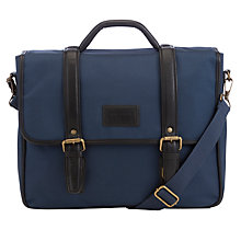 Buy Ted Baker Rooks Messenger Bag, Blue Online at johnlewis.com