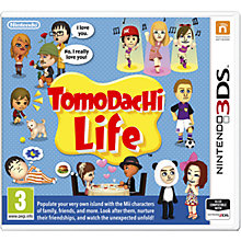 Buy Tomodachi Life, 3DS Online at johnlewis.com