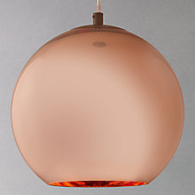 Buy Tom Dixon Ceiling Light, Copper, Dia. 25cm Online at johnlewis.com
