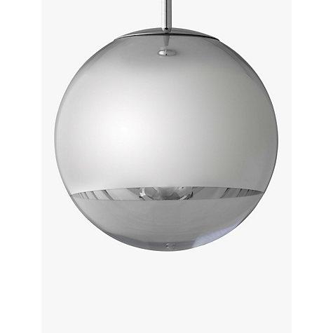 buy tom dixon mirror ball pendant light john lewis. Black Bedroom Furniture Sets. Home Design Ideas