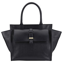 Buy Whistles Renee Structured Trapeze Bag, Navy Online at johnlewis.com