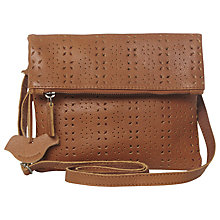 Buy White Stuff Saskia Leather Across Body Bag, Tan Online at johnlewis.com