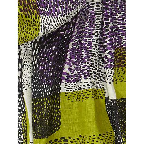 Buy Windsmoor Formosa Print Scarf, Multi/Green Online at johnlewis.com