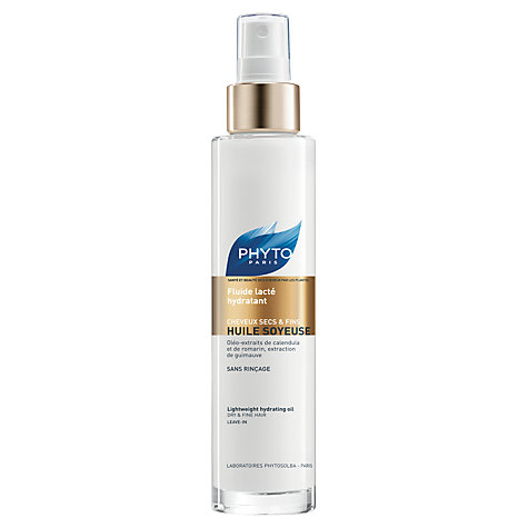Buy Phyto Huile Soyeuse Lightweight Hydrating Oil, 100ml Online at johnlewis.com