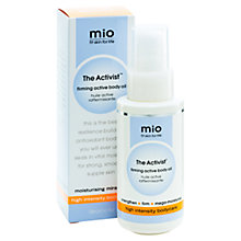 Buy Mio The Activist Firming Active Body Gel, 120ml Online at johnlewis.com