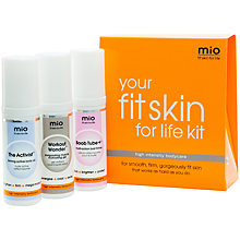 Buy Mio Fit Skin Kit, 3 x 50ml Online at johnlewis.com