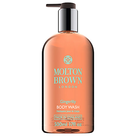 Buy Molton Brown Gingerlily Body Wash, 500ml Online at johnlewis.com