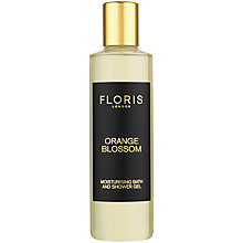 Buy Floris Orange Blossom Moisturising Bath & Shower Gel, 250ml Online at johnlewis.com