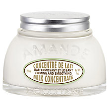 Buy L'Occitane Almond Milk Concentrate, 200ml Online at johnlewis.com