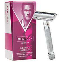 Buy Menrock The Double Edged Razor Online at johnlewis.com