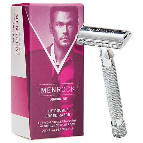 Buy Men Rock The Double Edged Razor Online at johnlewis.com