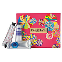 Buy L'Occitane Hand Cream Trio Online at johnlewis.com