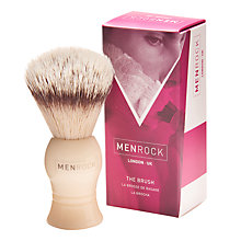 Buy Menrock Badger Hair Shaving Brush Online at johnlewis.com