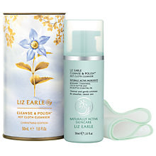 Buy Liz Earle Cleanse & Polish Christmas Edition Mini Drum, 50ml Online at johnlewis.com