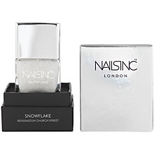 Buy Nails Inc. Nail Polish, Kensington Church Street Snowflake Online at johnlewis.com
