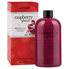 Buy Philosophy Raspberry Glazed Shampoo and Bodywash, 480ml Online at johnlewis.com